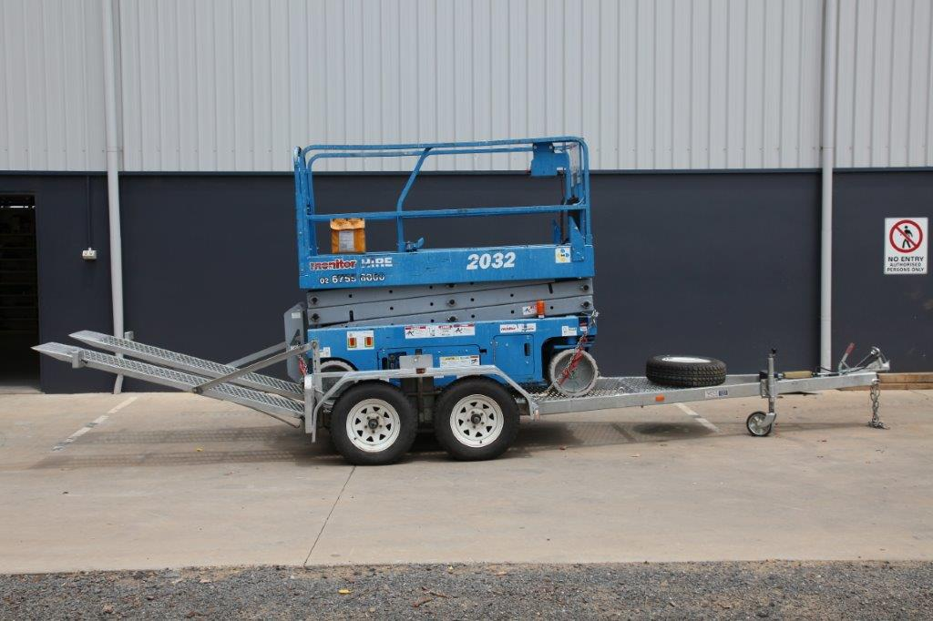 GENIE GS2032 ELECTRIC SCISSOR LIFT - Monitor Hire Lifts