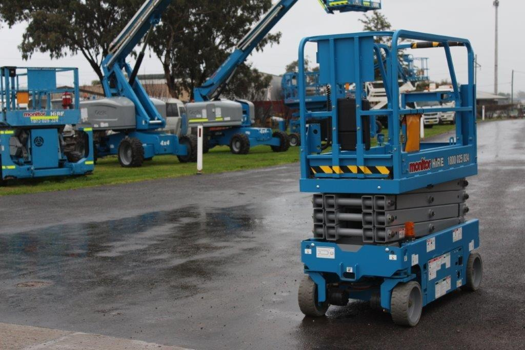 GENIE GS1932 ELECTRIC SCISSOR LIFT - Monitor Hire Lifts